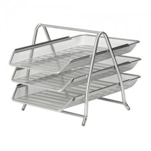 Mesh 3 Tier Letter Tray