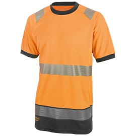High visibility clothing top